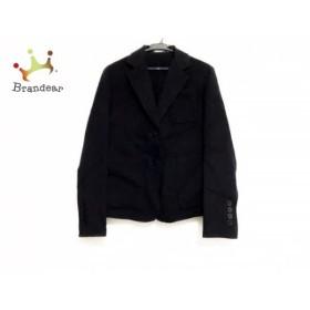ダナキャラン DKNY ジャケット サイズ4 XL レディース 美品 ダークネイビー 春・秋物         スペシャル特価 20190817【人気】
