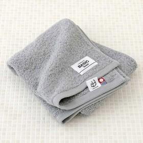 今治タオル フェイスタオル ロハコ限定 LOHACO Basic towel ストーングレー 約34×80cm 1枚