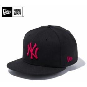 【メーカー取次】 NEW ERA ニューエラ 9FIFTY ニューヨーク・ヤンキース ブラックXストロベリー 11308472 キャップ