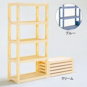 <メーカー直送品※代引きキャンセル不可> プラスチック棚 ユニット式多目的 N-5型 【 整理 額縁 パネル 粘土 乾燥 用具 収納 】