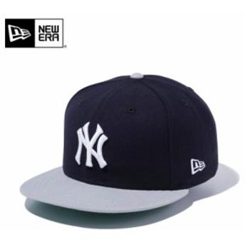 【メーカー取次】 NEW ERA ニューエラ 9FIFTY ニューヨーク・ヤンキース ネイビーXグレー 11308469 キャップ