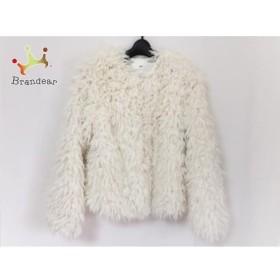 スライ SLY コート サイズ1 S レディース 美品 白 フェイクファー/冬物    値下げ 20190308