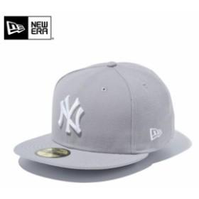 【メーカー取次】 NEW ERA ニューエラ 59FIFTY MLB ニューヨーク・ヤンキース グレーXホワイト 11308553 キャップ