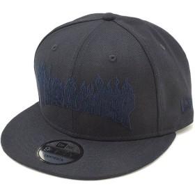 ニューエラ NEWERA スラッシャー ファイヤーロゴ キャップ 9FIFTY THRASHER スナップバック メンズ レディース 帽子 NEW ERA ネイビー  11914496 SS19