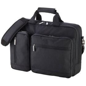 3WAYバッグ ビジカジ 15.6インチワイド ブラック