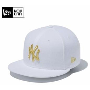 【メーカー取次】 NEW ERA ニューエラ 9FIFTY ニューヨーク・ヤンキース ホワイトXゴールド 11433952 キャップ