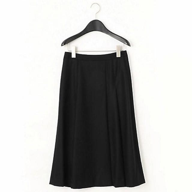 【SALE(伊勢丹)】<COMME CA 小さいサイズ> ラップ風Aラインフレアスカート(9611FI05) ブラック【三越・伊勢丹/公式】