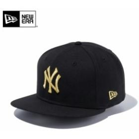 【メーカー取次】 NEW ERA ニューエラ 9FIFTY ニューヨーク・ヤンキース ブラックXゴールド 11308473 キャップ