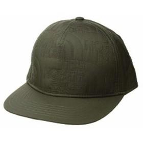 ノースフェイス メンズ 帽子 アクセサリー Quilted Cap New Taupe Green