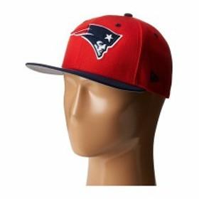 328da00c085 ニューエラ メンズ 帽子 アクセサリー NFL Two-Tone Team New England Patriots Red