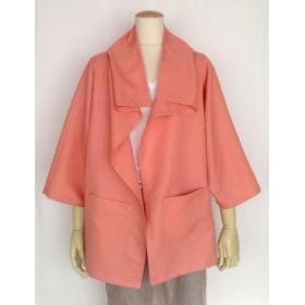 和布で作った2wayジャケット