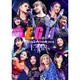 E-girls LIVE TOUR 2018 ~E.G. 11~【通常盤/Blu-ray3枚組+CD】/E-girls[Blu-ray]【返品種別A】