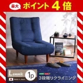 1人掛ハイバックソファ(布地)ローソファにも、ポケットコイル使用、3段階リクライニング 日本製|lemmik-レミック- [03]