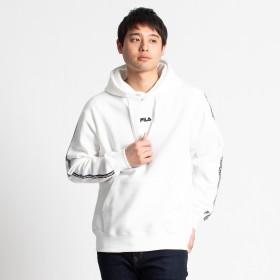 パーカー - WEGO【MEN】 FILA別注ミニマルロゴプリントPK FH7488