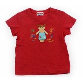 【ミキハウス/mikiHOUSE】Tシャツ・カットソー 90サイズ 女の子【USED子供服・ベビー服】(334839)