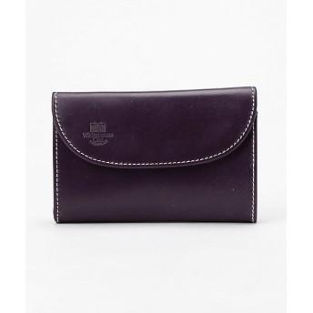 <ホワイトハウスコックス/WhitehouseCox> 3つ折財布(S7660) PurpleNewton 【三越・伊勢丹/公式】