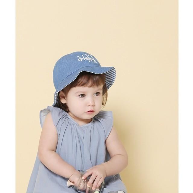 ba4daeab5a3b9 ハット - PlusNao ベビー帽子 ベビーハット ベビーキャップ デニムハット ぼうし 子供用 幼児 キッズ