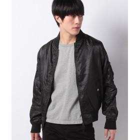 【23%OFF】 マルカワ MA 1 ミリタリー フライトジャケット ブルゾン メンズ ブラック XL 【MARUKAWA】 【タイムセール開催中】