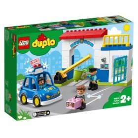 5702016367669:レゴ デュプロ 光る! 鳴る! ポリスカーとポリスステーション 10902【新品】 LEGO 知育玩具