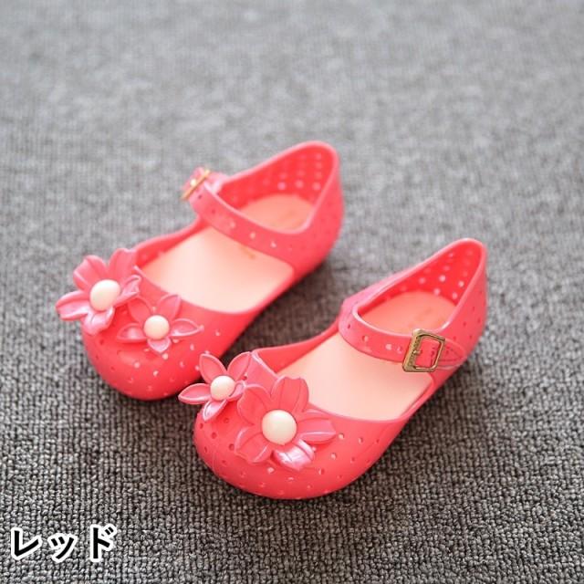 bb01a9f051b6c サンダル - PlusNao ラバーシューズ ラバーサンダル 靴 くつ 子供用 キッズ KIDS 女の子 女児 フラワー