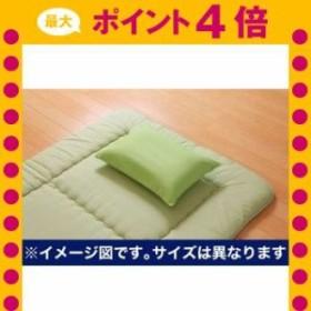 枕カバー 洗える ヒバエッセンス使用 『ひばピロケース』 グリーン 約28×39cm [13]