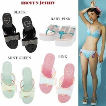 【SALE50%OFF】merry jenny メリー ジェニー リボンビーチサンダル 281721802101