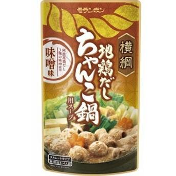 横綱 地鶏だしちゃんこ鍋用スープ 味噌味(750g2コセット)[つゆ]