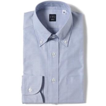 BEAMS F / ピンオックスフォード ボタンダウンシャツ メンズ ドレスシャツ LT. BLUE/12 37