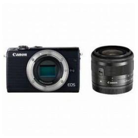 Canon ミラーレス一眼 EOS M100【EF−M15−45 IS STM レンズキット】 (ブラック/ミラーレス一眼カメラ)