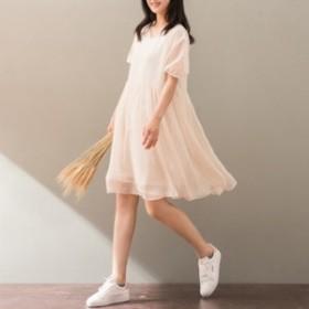 袖ありパーティードレス 結婚式 ドレス ワンピース 大きい パーティードレス ロング ミモレ丈 結婚式ドレス 袖あり fe-0463