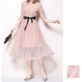 韓国 ファッション レディース ワンピース パーティードレス 結婚式 お呼ばれドレス お呼ばれワンピース ロング マキシ 秋 冬 パーティー
