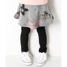 [マルイ] 子供服 スカッツ キッズ 韓国子供服 裏シャギーポケット付スカッツ柄 スカート付きレギンス/デビロック(devirock)