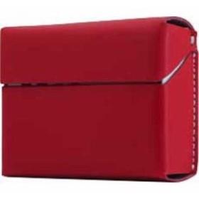 ロア・インターナショナル 4589753005259 エスエルジーデザイン Calf Skin Leather iQOS Heets Case レッド SD11525 1コ