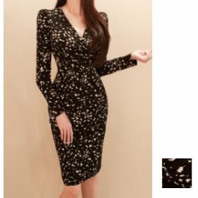 韓国 ファッション レディース ワンピース パーティードレス 結婚式 お呼ばれドレス お呼ばれワンピース ショート ミニ丈 秋 冬 パーティ