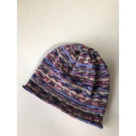 OPAL毛糸のゆったり帽子