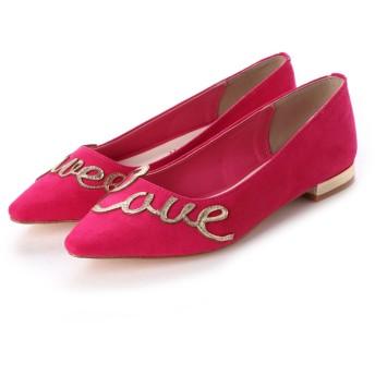 ジェリービーンズ JELLY BEANS Sweet Loveメッセージパンプス 115-7405 (ピンク)
