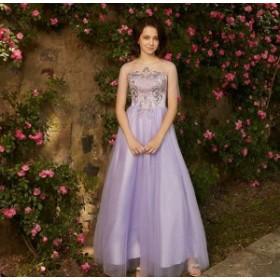 花嫁ドレス パーティードレス ワンピース 裏地あり 優雅 イブニングドレス ステージ衣装 結婚式 披露宴 お呼ばれ 演奏会 二次会
