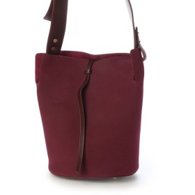 ヴィータフェリーチェ VitaFelice トレンドのデザインをおさえた縦型のワンショルダーバッグ。 (ワイン)