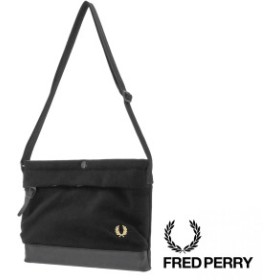 FRED PERRY フレッドペリー PIQUE SACOCHE BAG 男女兼用 F9543
