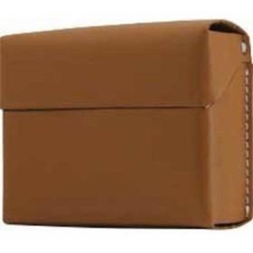ロア・インターナショナル 4589753005273 エスエルジーデザイン Calf Skin Leather iQOS Heets Case タン SD11527 1コ