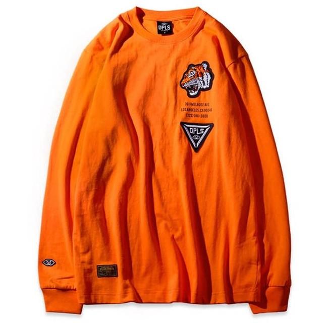 4583a4ac697d DEEP LIFESTYLE SUPPLY CO. ディープライフスタイルサプライ TIGER NATION LS TEE 長袖 Tシャツ