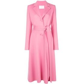 Carolina Herrera ベルテッド シングルコート - ピンク
