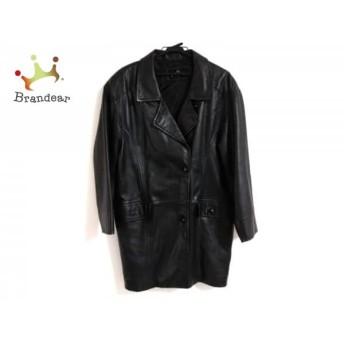 ムーンバットファー Moon Bat Fur コート サイズF レディース 黒 PIELITA/レザー/冬物 値下げ 20190604【人気】