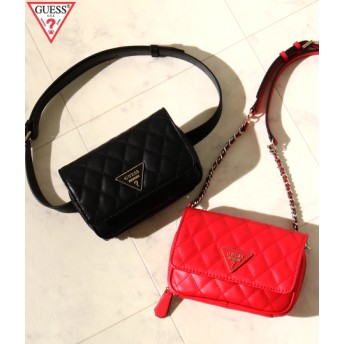 GUESS ゲス CALIFORNIA DREAM CONVERTIBLE CROSSBODY BELT BAG