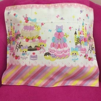 2種 ピンク ランチョンマット ランチョン 女の子柄 マカロン柄 ケーキ柄 入園準備 入園グッズ テーブル用品