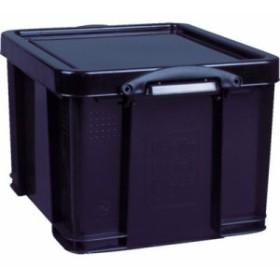 トラスコ中山 【送料無料】35BLK RUP コンテナ Really Useful Box 35L ブラック
