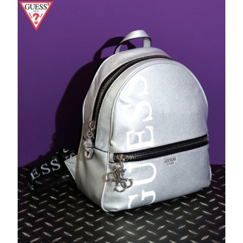 ANAP(アナップ)GUESS URBAN CHIC METALLIC LOGO BACKPACK