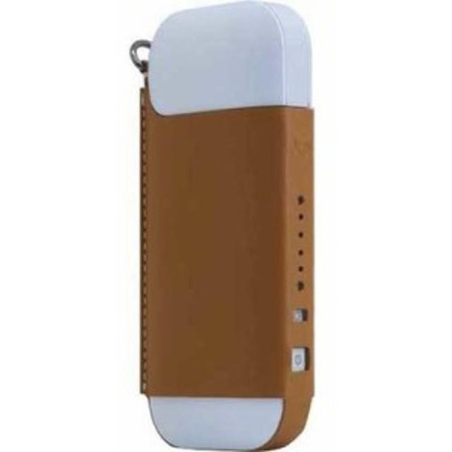 ロア・インターナショナル 4589753005327 エスエルジーデザイン Calf Skin Leather iQOS Case タン SD11532 1コ