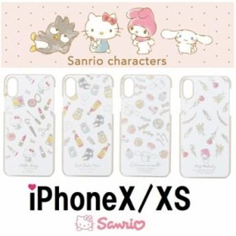 サンリオiPhoneX/XS iphoneケース フラワーリング シナモロール iPhoneX iPhoneXS スマホケース サンリオ Sanrio iPhoneケース