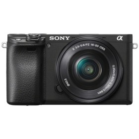 SONYデジタル一眼カメラ・パワーズームレンズキットα6400ブラックILCE-6400L B